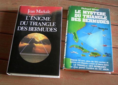 jean markale,richard winer,triangle des bermudes,mystères,disparitions mystérieuses,atlantide,quatrième dimension,avalon,réalisme fantastique,bermudes