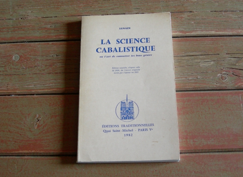 lazare lenain,la science cabalistique,anges,magie